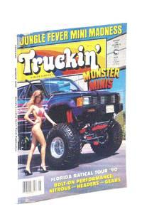 Truckin' Magazine, August [Aug.] 1990: Monster Minis! / Traci Dali Cover Photo
