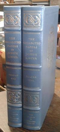 image of The Collected Papers of Joseph, Baron Lister (2 Volumes Leatherbound)  The  Classics of Medicine Library