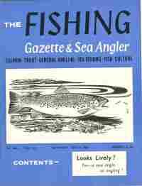 THE FISHING GAZETTE & SEA ANGLER; July, 7, 1962- Dec. 29, 1962, 26 Issues
