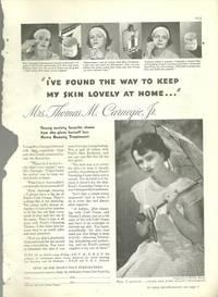 1932 GOOD HOUSEKEEPING POND'S COLD CREAM MAGAZINE ADVERTISEMENT
