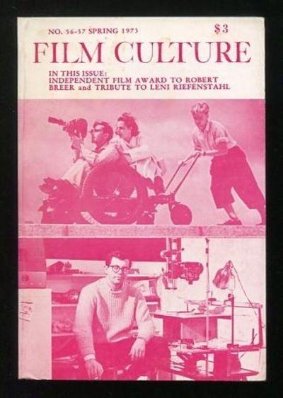 New York: Film Culture Non-Profit Corporation. Near Fine. 1973. (No. 56-57). Periodical. . (B&W phot...