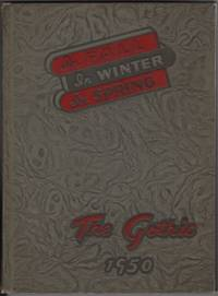 The Gothic 1950  Bloomington Indiana High School Yearbook
