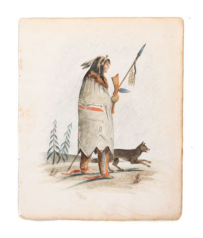 [Two watercolours depicting a Native...