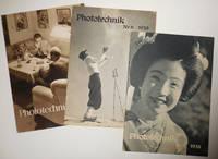 image of Phototechnik Nr. 5 1938, Nr. 6, 1938 and Nr. 1 1939 (Three Issues)