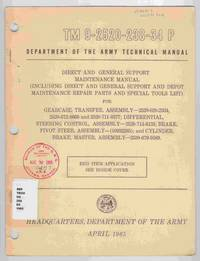 Technical Manual TM 9-2520-238-34 P Direct and General Support Maintenance  Manual (Including Direct and General Support and Depot Maintenance Repair  Parts and Special Tools List)