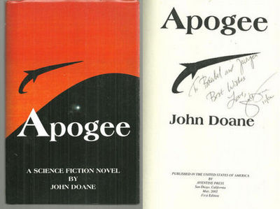 APOGEE A Science Fiction Novel, Doane, John