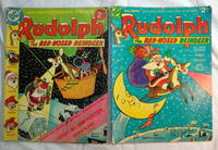2 DC 1970's Rudolf Red-Nosed Reindeer Giant Comic Books