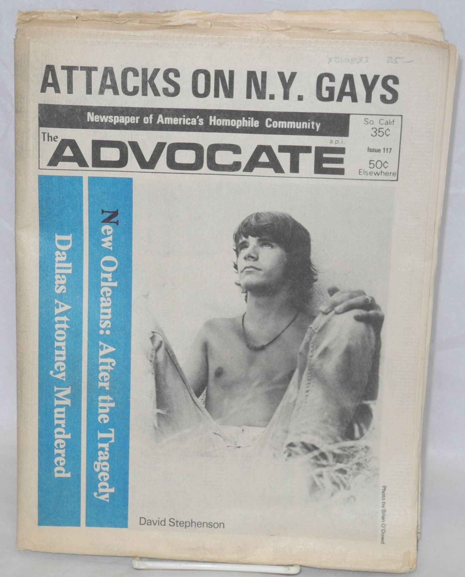 from Declan the advocate gay newspaper