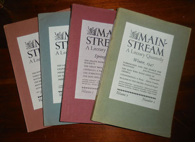 New York: Mainstream Associates, 1947. First edition. Paperback. Very Good +. First four issues of t...