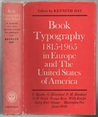 image of Book Typography, 1815-1965: In Europe and The United States of America