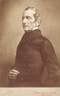 Cabinet Photograph of Lamartine, three-quarter length, by Nadar.