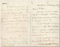 "[Autograph Letter, Signed (""SL Clemens""), to Richard Watson Gilder]"