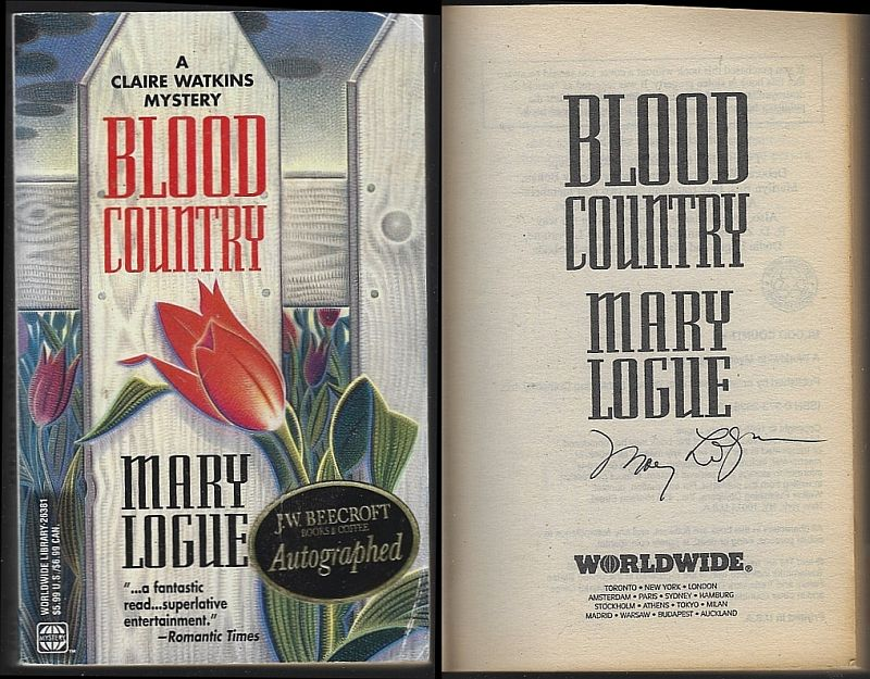 BLOOD COUNTRY, Logue, Mary