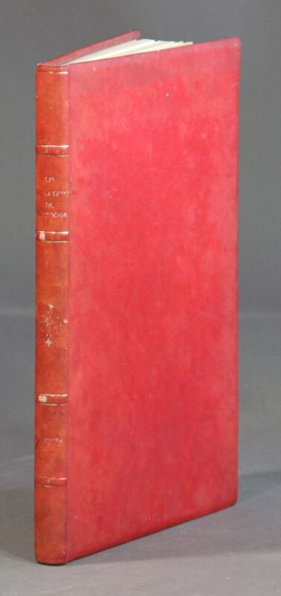 Paris: Masson & Cie, 1956. 8vo, pp. , 164; numerous illustrations and maps, extremities lightly rubb...