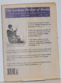 image of The Lesbian Review of Books: an international quarterly review of books by, for, and about lesbians; vol. 2, #2, Winter 1995-96