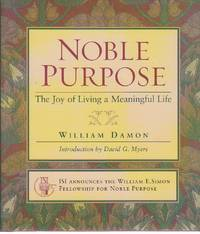 image of Noble Purpose The Joy of Living a Meaningful Life