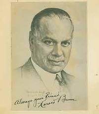 image of Illustrated portrait of Harold Brumm.