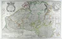 Les Provinces Des Pays-Bas Catholiques ou A Most Exact Map of Flanders or Austrian Netherlands & c.