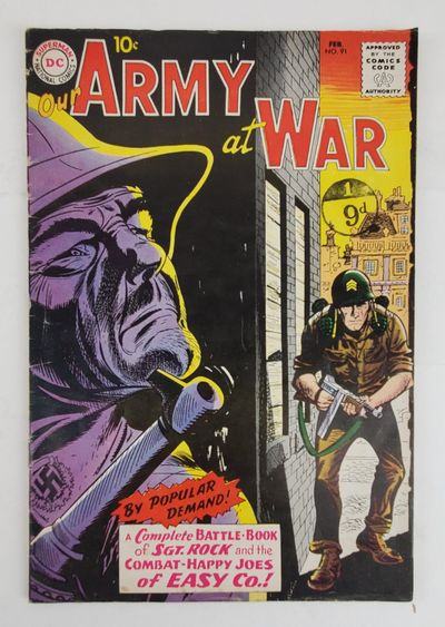 New York: National Periodical Publications, 1960. Comic Book; FN+. Minor creasing and edge wear to c...