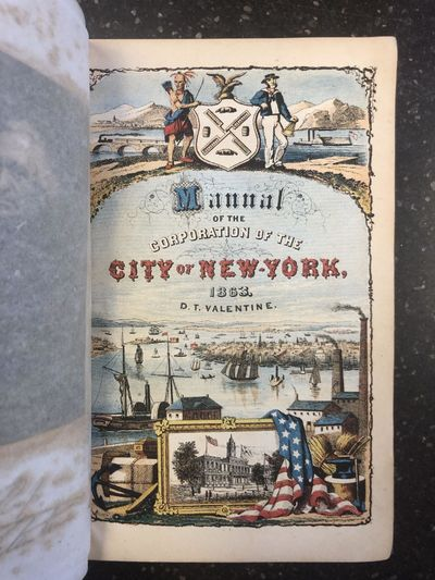 New York: Published by the Author, 1863. First Edition. Hardcover. Octavo, 852; G; fully bound in gr...