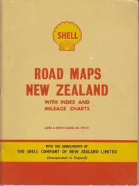 image of Shell Road Maps, New Zealand, With Index and Mileage Charts