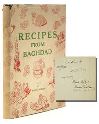 """Autograph Letter, signed (""""May""""), to Helen [Gaudin], from Baghdad, dated 2 May 1946. [With:] Recipes from Baghdad, editor's copy, signed by contributors, with presentation inscription in Arabic to Mrs Gaudin from 'Aliya, Queen Mother of Iraq"""