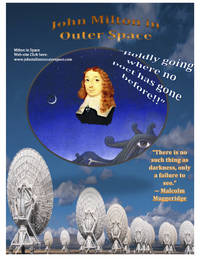 John Milton in Outer Space by Terrance Lindall - First - 2017 - from WAH Center (SKU: 13)
