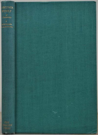 London: Hogarth Press, 1949. Book. Very good+ condition. Hardcover. First Edition. Octavo (8vo). 256...