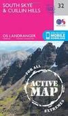 South Skye & Cuillin Hills (OS Landranger Active Map)