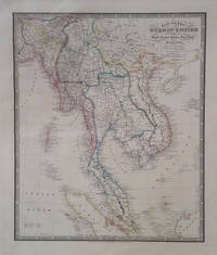 Map of the Burman Empire Including also Siam, Cochin-China, Ton-king and Malay From Calcutta to Hong-Kong