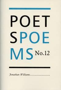 image of Poet's Poems No. 12 Jonathan Williams