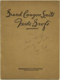 Grand Canyon Suite (for Piano) (1932) (Signed)