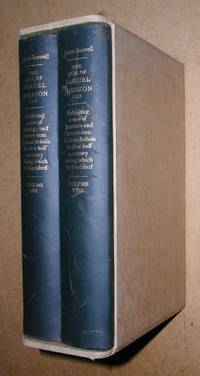 The Life of Samuel Johnson. In 2 Volumes.