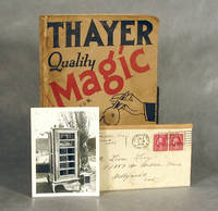 "Thayer's Catalogue Of Quality Magic No. 7, Plus Associated Ephemera (Former Copy Of Vaudeville Magician ""The Great Leon"" ) by  F.G Thayer - 1928 - from AARDWOLF Fine Books (SKU: 6137)"