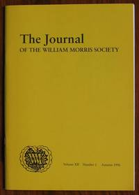 The Journal of the William Morris Society Volume XII Number 1 Autumn 1996