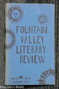 FOUNTAIN VALLEY LITERARY REVIEW 1960 VOL II NR 3 SUMMER