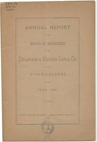 image of Annual Report of the Board of Managers of the Delaware & Hudson Canal Co. to the Stockholders, for the Year 1889