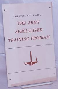 image of Essential Facts About the Army Specialized Training Program