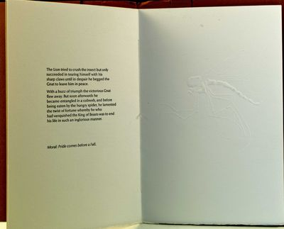Guildford, England: Circle Press, 1982. Printed wrapper. First Edition. 4to, 8pp., illustrated with ...