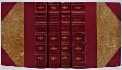 London: George Bell and Sons, 1889. Four volumes in all, finely bound in contemporary unsigned half ...