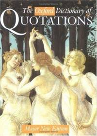 The Oxford Dictionary of Quotations (División Academic)