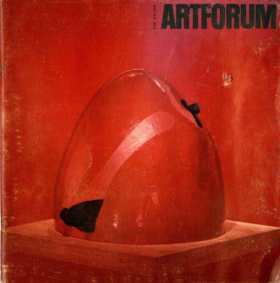 Artforum, volume II, no. 2, August...