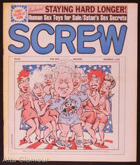 SCREW; The Sex Review by  Al (Editor) Goldstein - 1992 - from Alta-Glamour Inc. and Biblio.com