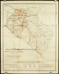 Board of Supervisor's Map of County, Showing Particularly the Paved Highways of Orange County California.