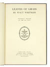 View Image 2 of 4 for Leaves of Grass. Facsimile Edition of the 1855 Text. Inventory #123930