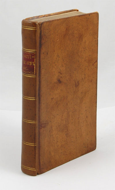 London: Printed for J. Dodsley, 1782, 1782. First edition. ESTC T130218; NCBEL II, 554; Lowndes, pag...