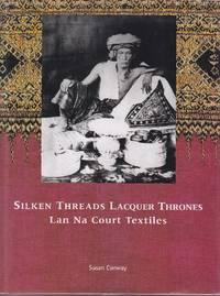 image of Silken Threads Lacquer Thrones - Lan Na Court Textiles