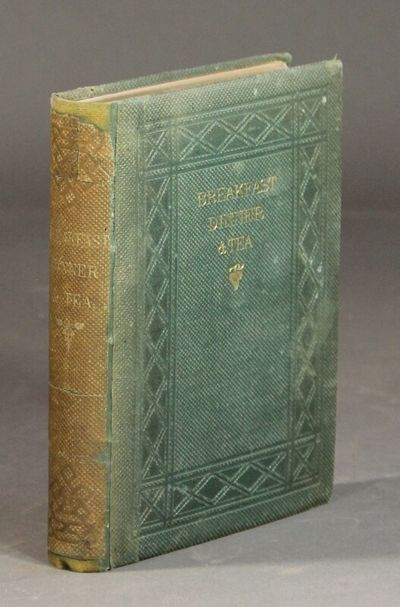 New York: D. Appleton and Co, 1859. First edition, square 8vo, pp. xi, , 351; original blindstamped ...