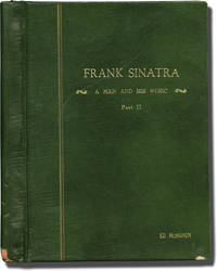 Frank Sinatra: A Man and His Music II (Original screenplay for the 1966 television special, Ed McMahon's copy)