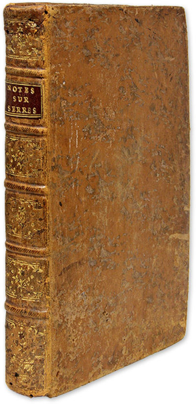 1787. A Set of Manuscript Notes on an Eighteenth-Century Textbook on French Law . Deloche, Maurice C...